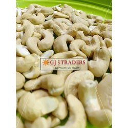 GJ 5 Traders W210 Dried Cashew Nuts, Packaging Size: 10 Kg, Packaging Type: Tin