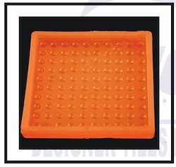 Chequered Tiles Silicone Mould