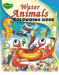 Water Animals Coloring Book