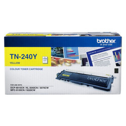 Brother Tn 240 Yellow Toner Cartridge