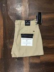 Cotton/Linen Plain Men Casual Trouser