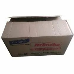 Single Wall - 3 Ply Rectangle Corrugated Paper Box, For Packaging, Box Capacity: 1-5 Kg
