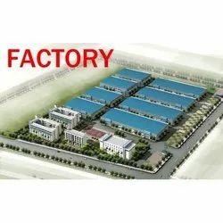 Industrial Building Blue Print
