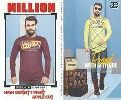 PG Cotton Million Mens T Shirts