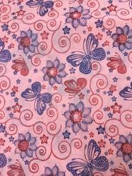 F206 Non Metallic Printed Fabric