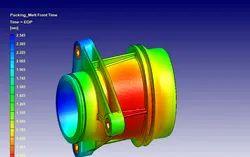 MoldFlow, Analysis Type: Flow Analysis, Molding Process