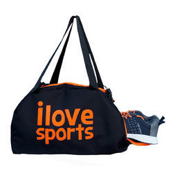 d121b5213dbf Custom Multicolor Gym Bag With Shoe Compartment Orange