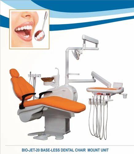Electric Dental Chair Units Bio Jet 20 Base Less Dental