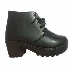 Ladies Fashionable PU Leather Black