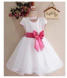 Awabox Bow Design Flared Dress