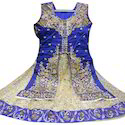 Sleeveless Party Wear Designer Indo Western Dress