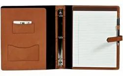 Leather Presentation Binder
