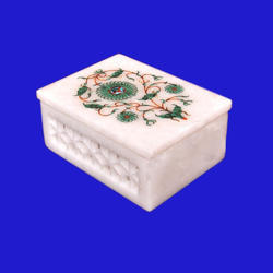 Handmade Marble Inlay Box