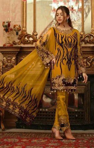 Designer Festival Wear Pakistani Style Salwar Kameez Wholesale Collection