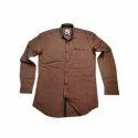 Cotton Mens Plain Shirt, Size: Medium