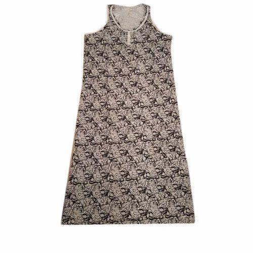 10124ceb96 Printed Cotton Ladies Sleeveless Night Dress, Rs 100 /piece | ID ...