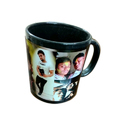Black Sublimation Blank Printable Mug, Size: 11 Oz