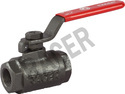 Screwed End CI Ball Valve