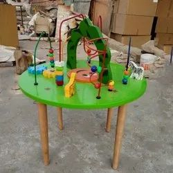 Green Maze Play Table