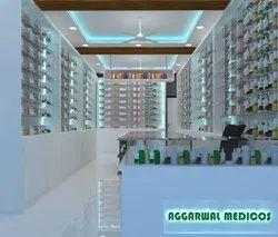 Medical Shop Design Services, Location: India