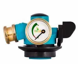 Brass Manual LPG Horizontal Gas Safety Device