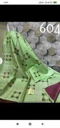 Kota Silk Gicha Embroidered Sarees