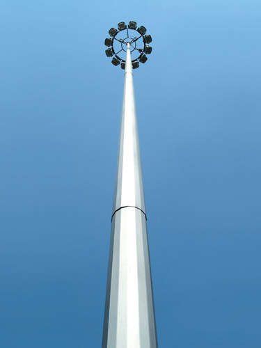 High Mast Tower At Rs 40000 Piece लाइटिंग टावर Flame