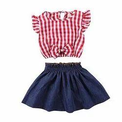Lenzing Tencel Kids Skirt Top Set