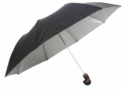 Black Single Fold Umbrella