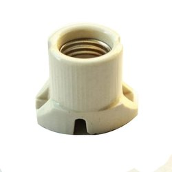 Bhairav White Electric Bulb Holder