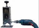 Manual Scrap Wire Stripping Machine with Drilling Machine