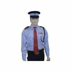 Polyester Cotton Men Security Guard Uniform