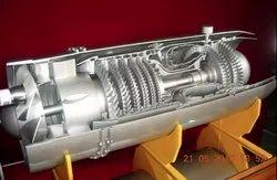 Cut way model of Engine