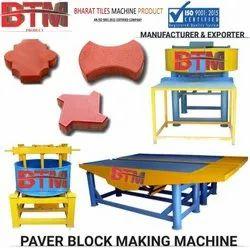 BTM interlocking tiles making machine