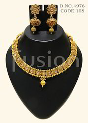 Traditional Antique Necklace Set