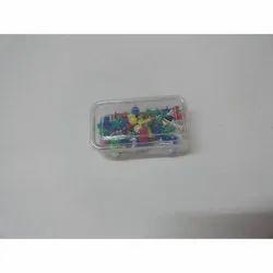 SS + Plastic Push Pins