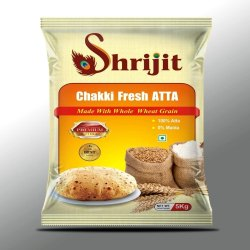 M/S Sudhir Enterprises Shrijit Brand Wheat Atta, Pack Type: Bag