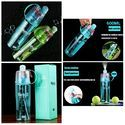 Plastic Spray Water Bottle For Out Door, For Personal Care