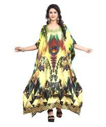 Party Wear Digital 3D Printed Women''s Kaftans Kurta 2018