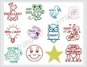 School Rubber Stamps
