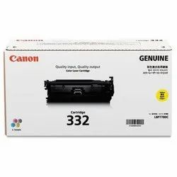 Canon 332 Yellow Toner Cartridge, Packaging Type: Box for Printer