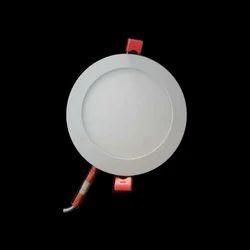 Ceramic Cool White 12 Watt LED Round Slim Panel, IP Rating: IP55 , 12 W