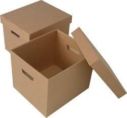 Cardboard Double Wall - 5 Ply Packing Carton Boxes, for Packaging, Box Capacity: 6-10 Kg