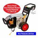 High Pressure Water Jet Cleaning Machine 200 Bar