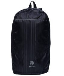 Zwart Black Plain Backpack