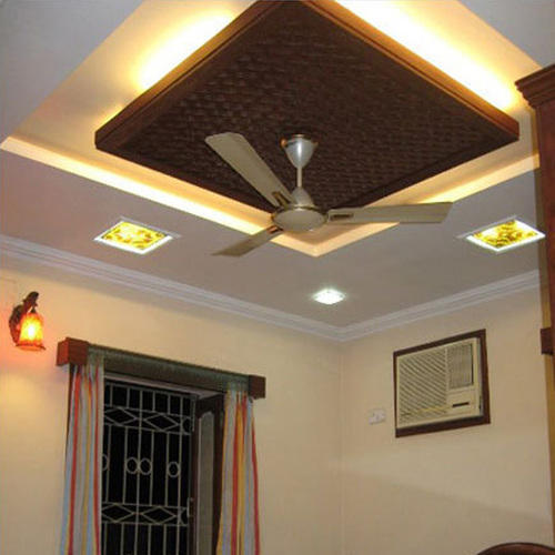 Modern Office False Ceiling, Modular False Ceiling - S&B Interior ...