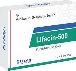 Lifacin-500 Vial ( Amikacin 500 mg )