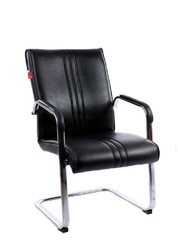 Non Rotatable Visitor Chair capsule frame