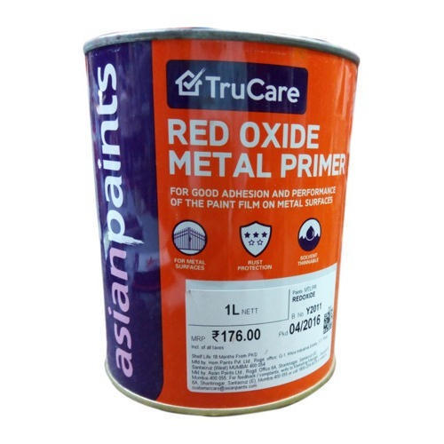 Asian Paints Red Oxide Metal Primer