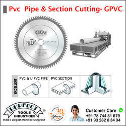 PVC Pipe And Section Cutting Circular Saw Blade